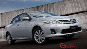 Cho thuê xe 4 chỗ Toyota Altis