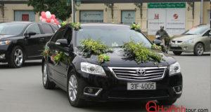 Cho thuê xe cưới 4 chỗ Toyota Camry LE