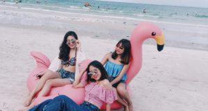 Nếu chưa hãy tới ngay bãi biển hoang sơ vừa rẻ vừa đẹp nhất Vịnh Bắc Bộ - biển Minh Châu nhé! 