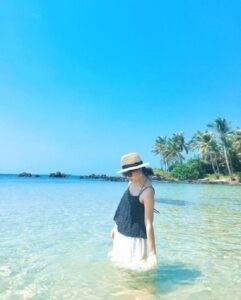 Hòn Móng Tay đang nổi lên như một thiên đường hoang sơ mà đẹp say đắm